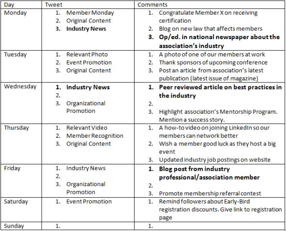 Industry News Calendar